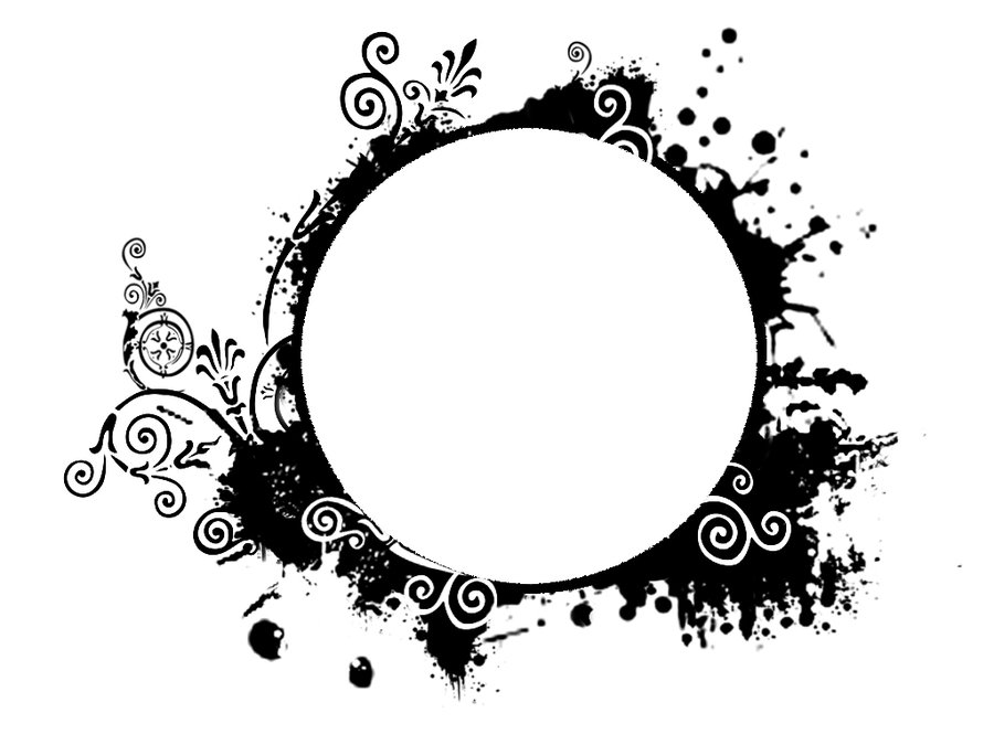 Grundge clipart circle Frame DeviantArt Tigers by stock