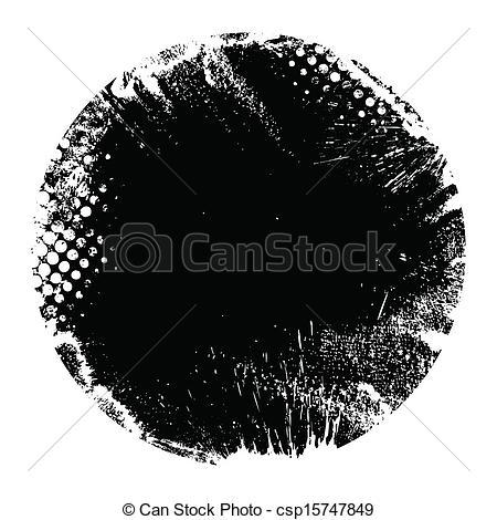 Grundge clipart circle Round Round csp15747849 Circle EPS