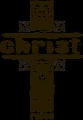 Grundge clipart cross Image Grunge Cross Christ Christ