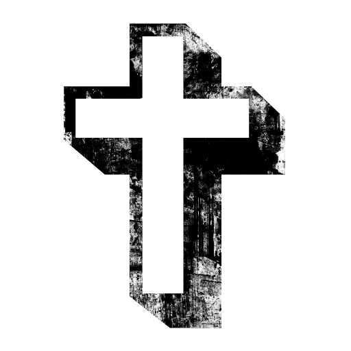 Grundge clipart cross (Crosses) Icon » (Crosses) Cross