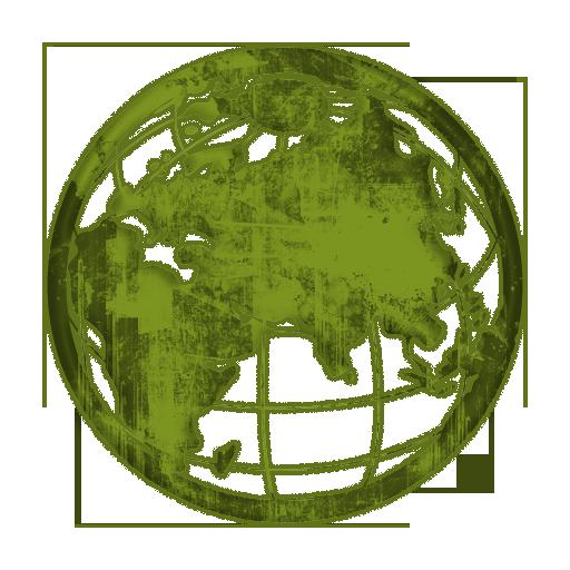 Grundge clipart globe Grid Icons Etc #028733 with