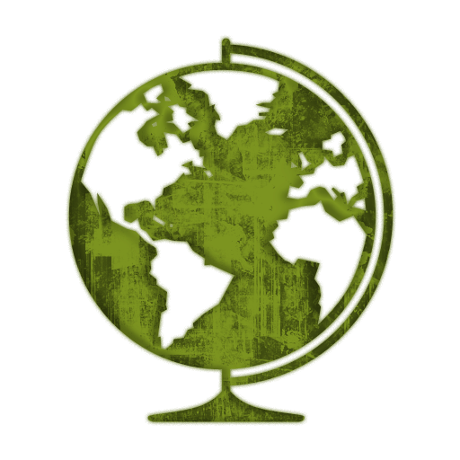Grundge clipart globe Green » Icons Icon Etc
