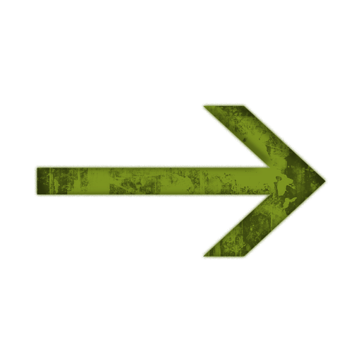 Grundge clipart green Right Quoted clipart arrow4 grunge
