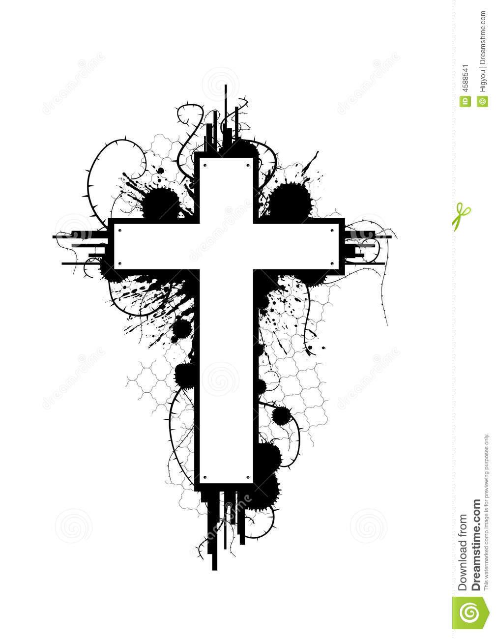 Grundge clipart grung Cross Grunge Cross Grunge Clipart