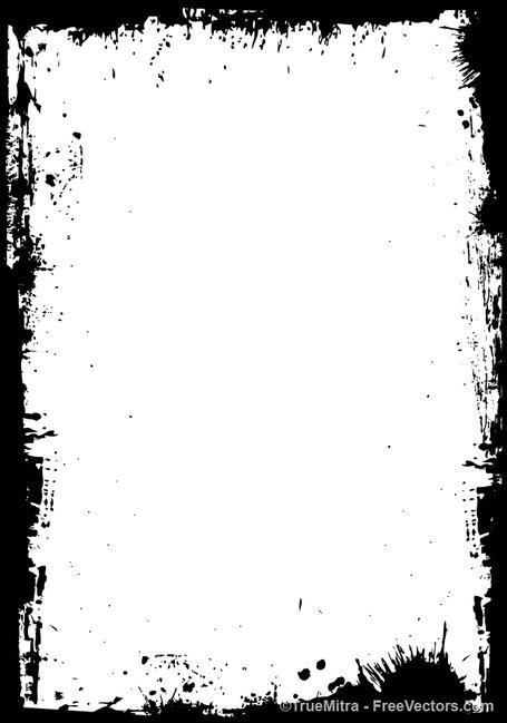 Grundge clipart grung Grunge Clip Frame Art Graphics