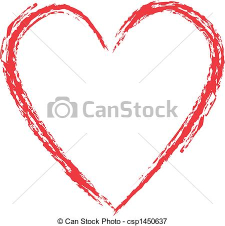 Grundge clipart heart Heart style Grunge  heart