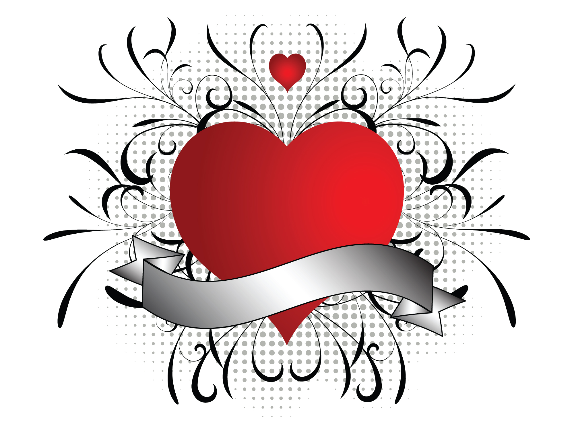 Hearts clipart heart banner Hatfield with heart heart graphics