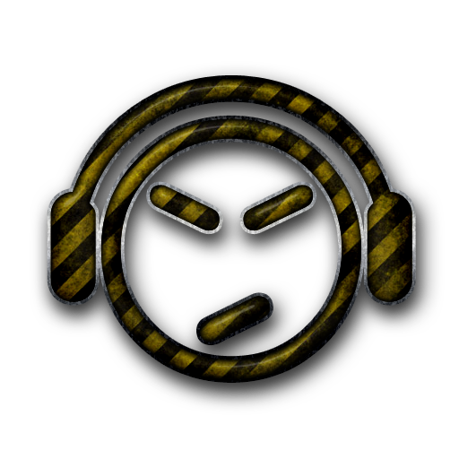 Grundge clipart music headset #021513 Music) » Headset Icon