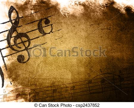 Grundge clipart splatter With grunge of perfect music