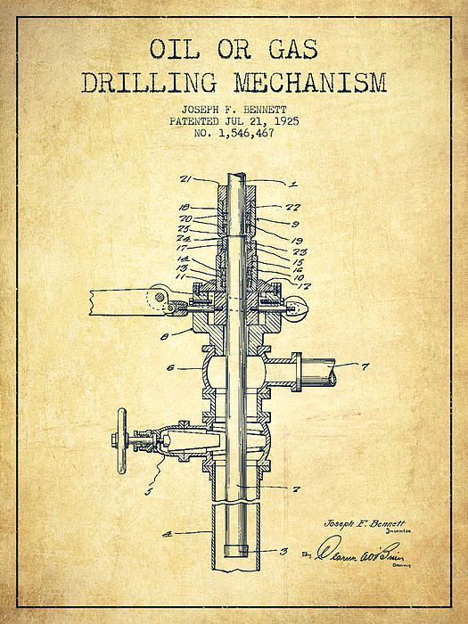 Grundge clipart oil field About images Pinterest Patent 1925