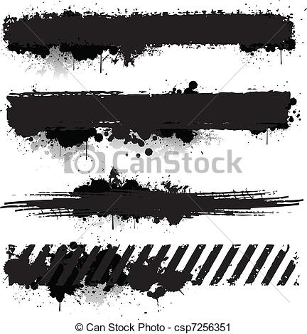 Grunge clipart  Illustrations Texture Art 022