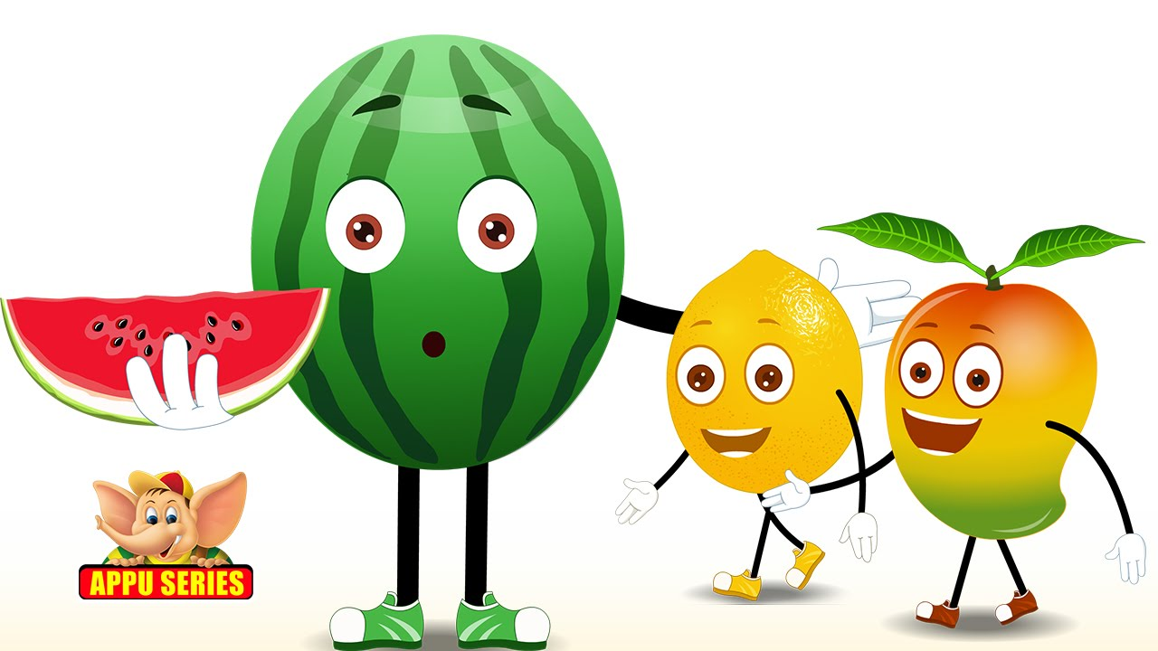 Guava clipart fruits and vegetable English Best Children Rhymes YouTube