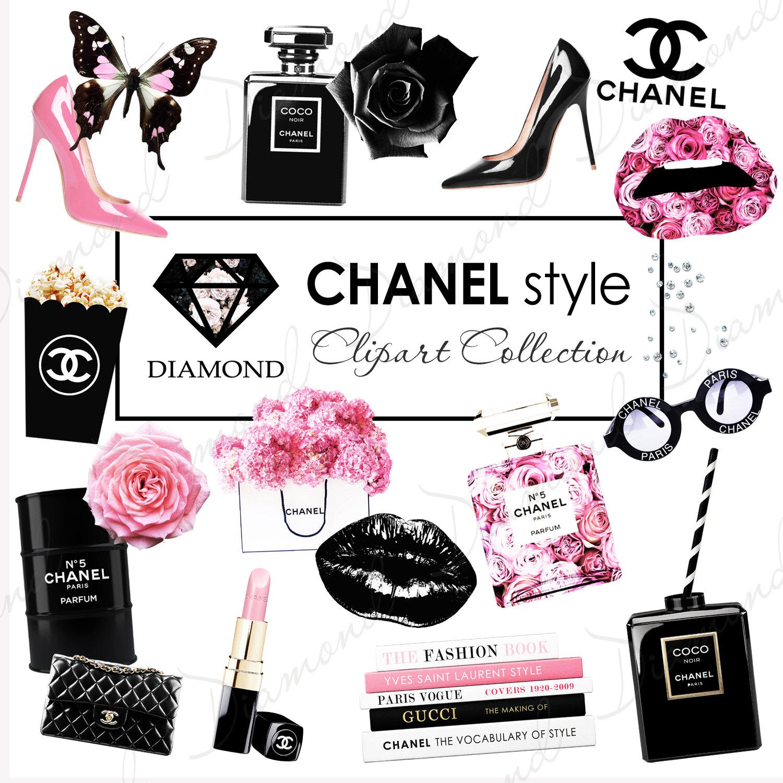 Chanel clipart lipstick Girl clipart Chanel Clipart Coco