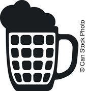 Guinness clipart black and white Clip EPS Glass Mug Glass
