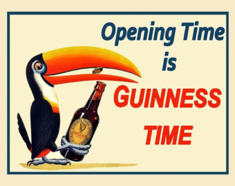 Guinness clipart irish Ireland Toucan Toucan Poster for