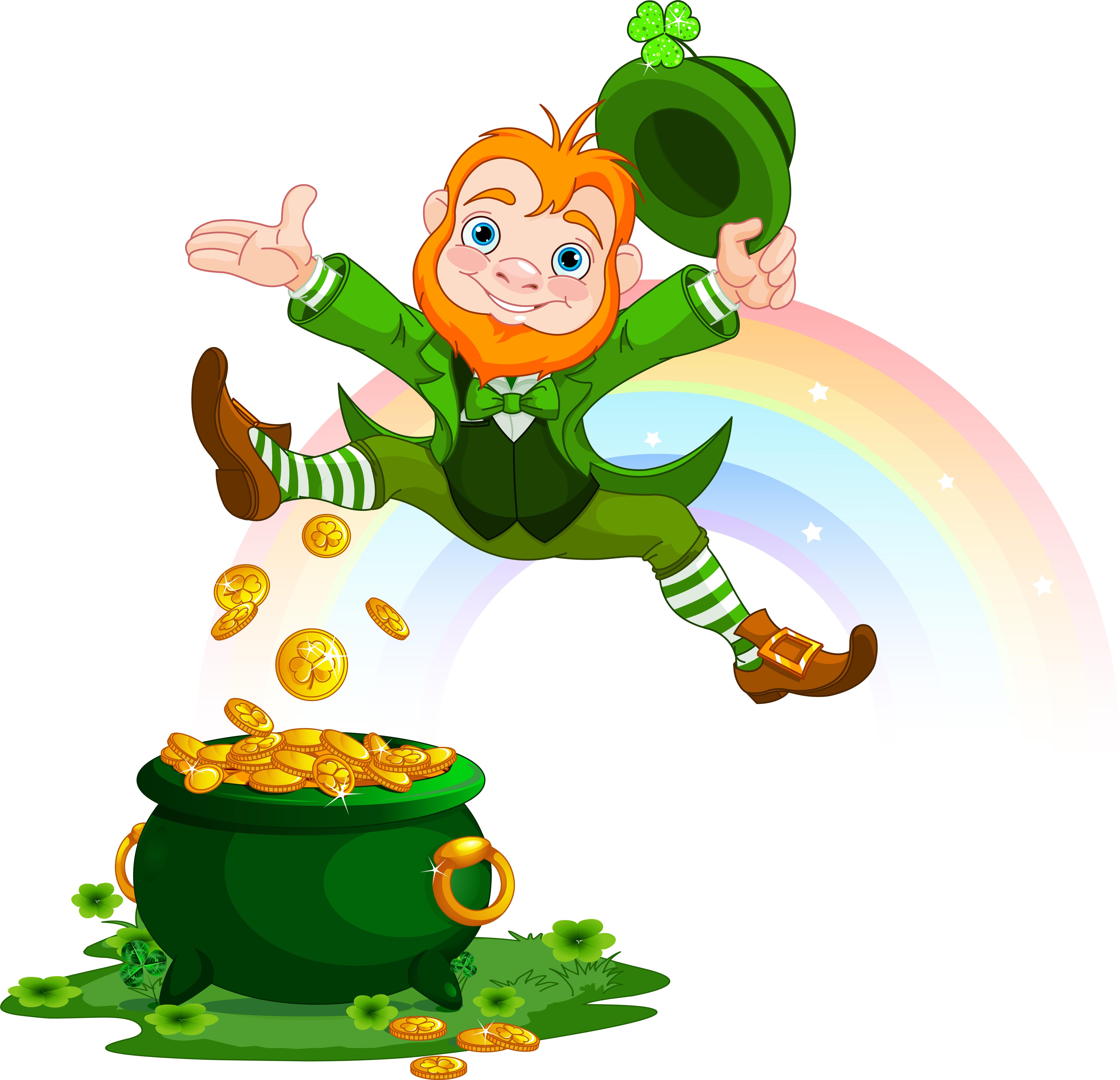 Guinness clipart leprechaun Day! Happy Happy St Patrick's