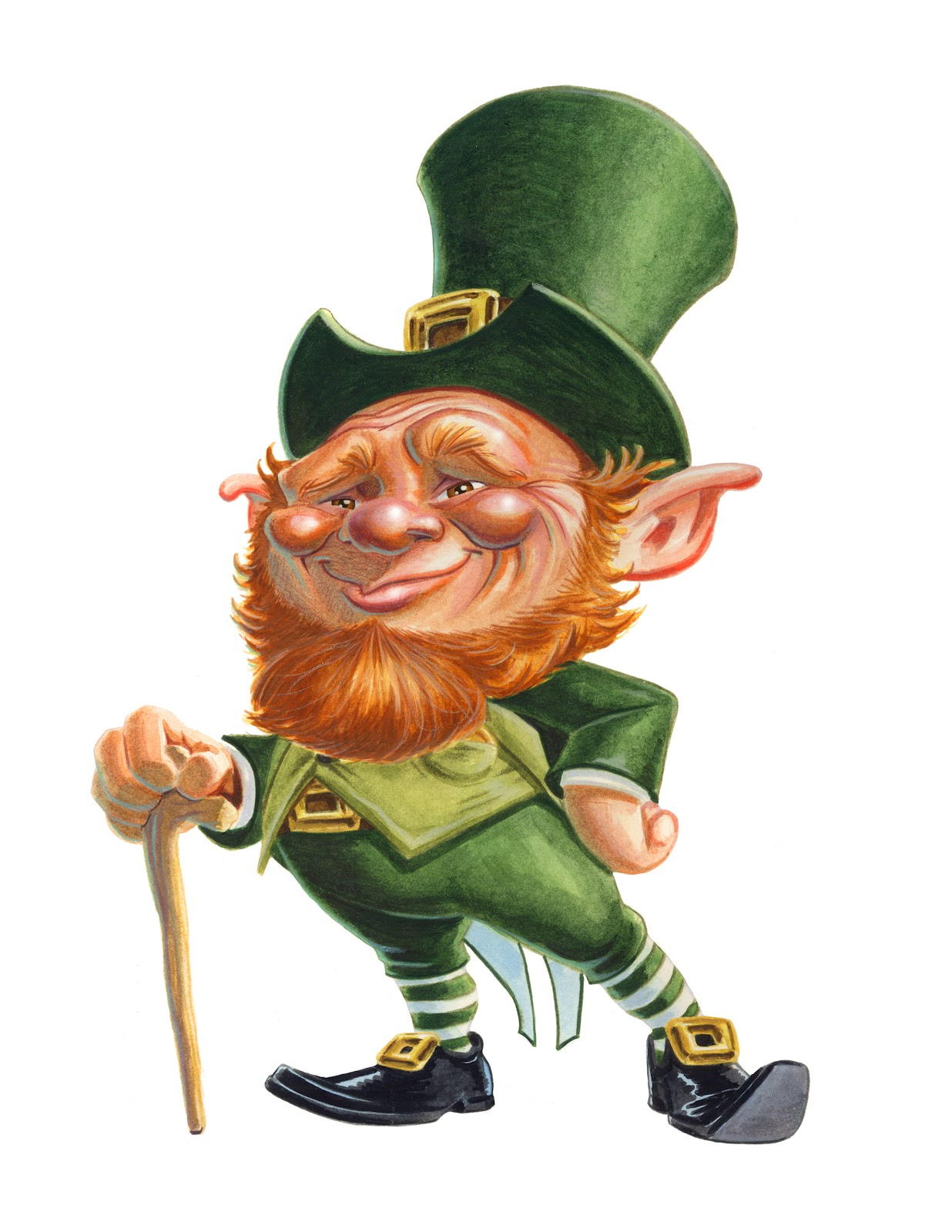 Guinness clipart leprechaun Cartoon Art Tweet with friends