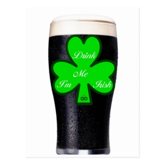 Guinness clipart pint guinness Postcard Guinness Guinness Cards Zazzle
