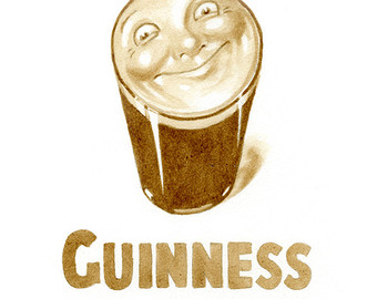 Guinness clipart pint guinness Vintage only beer Guinness using