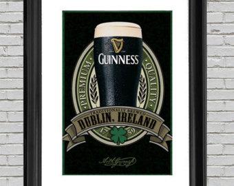 Guinness clipart popular beer Beer Art Guinness 24x36 Poster