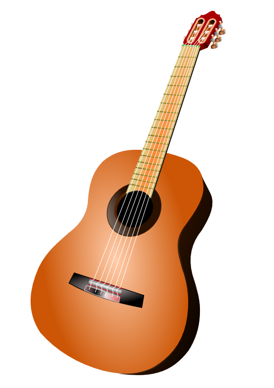 Background clipart guitar #1