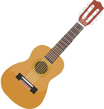 Guitar clipart Clipart Cliparting clipart Skull guitar