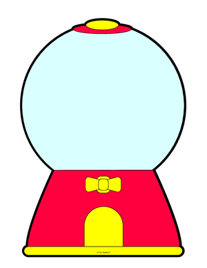 Gumball clipart Machine Gumball Gumball Clipart Empty