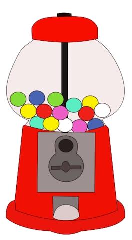 Gumball clipart PNG machine  machine gumball