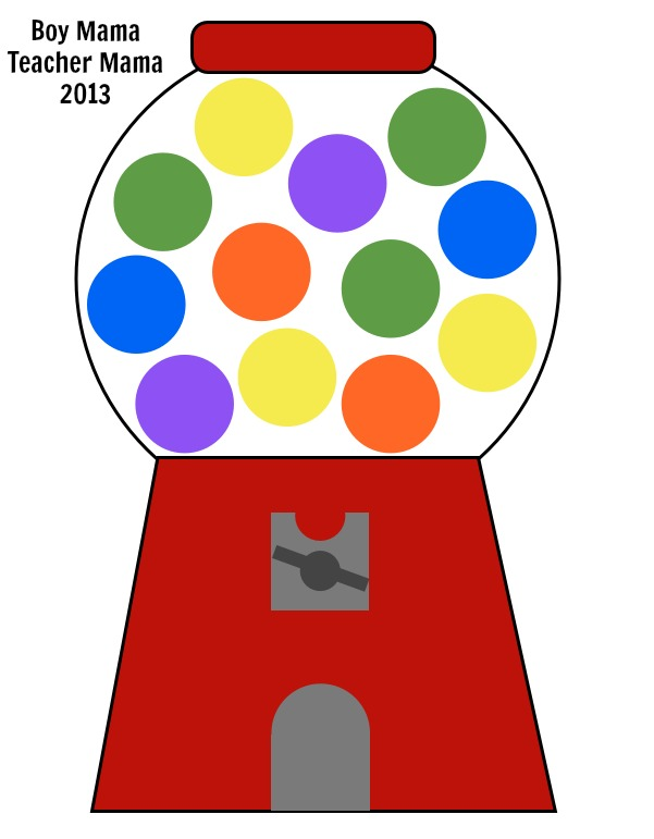 Gumball clipart Art and Machine Inspiration Machine