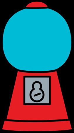 Machine clipart clip Empty Art Machine Bubblegum Gumball