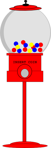 Chewing Gum clipart machine Online as: com image