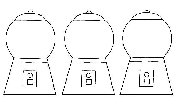 Gumball clipart empty Three Three Gumball Machine Gumball