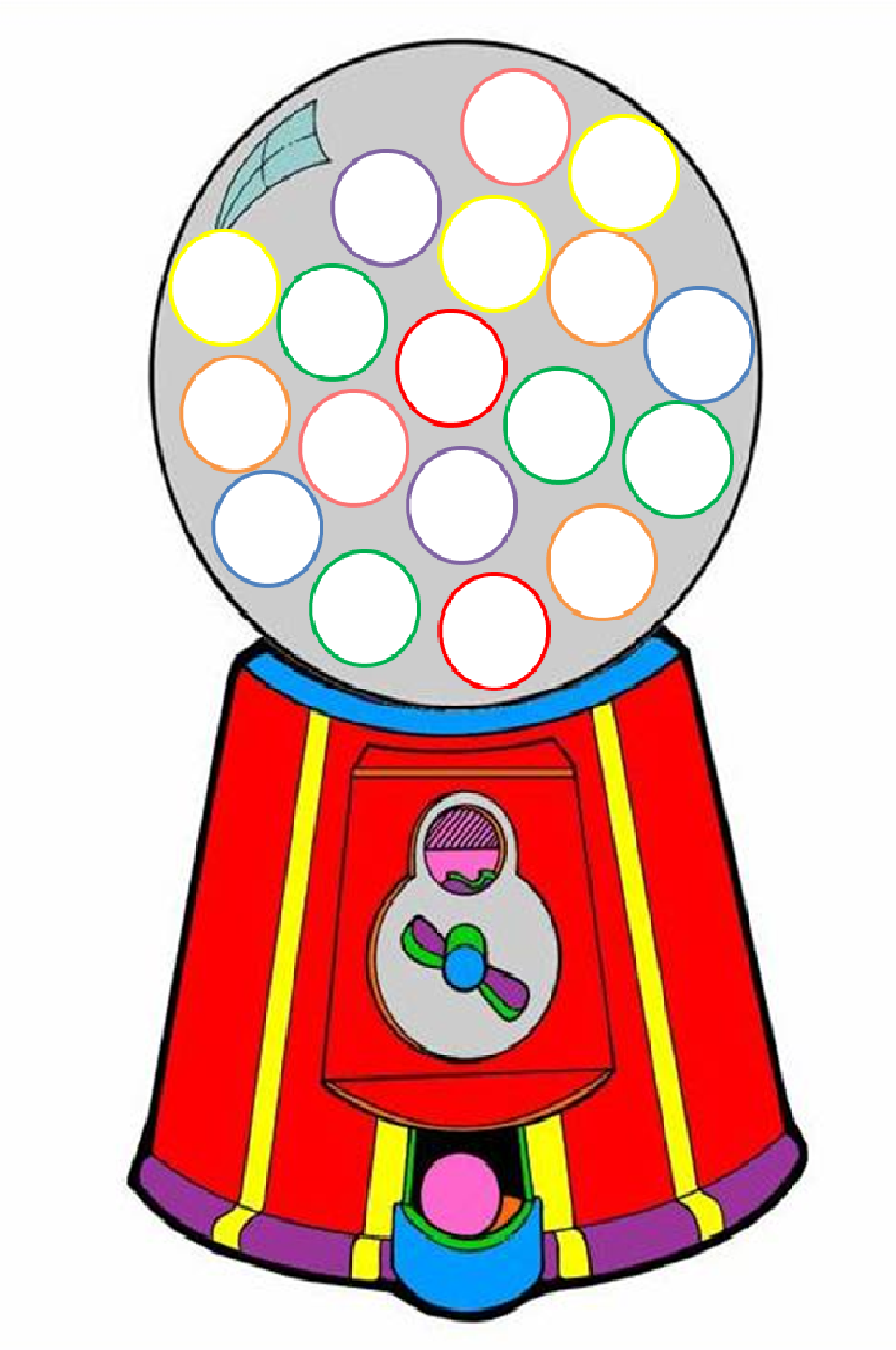 Gumball clipart empty Gumball Others Machine Clipart Art