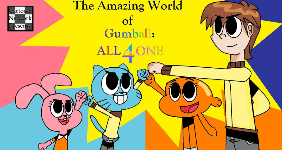 Gumball clipart one World Gumball0506 by The ONE