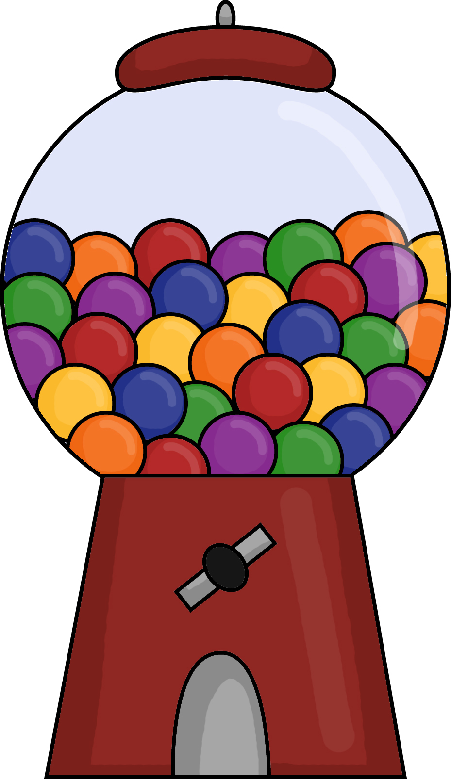Gumball clipart one  Gumball Clipart