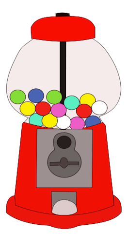 Gumball clipart one Diamond Jewelry Clipart Bubble Gum