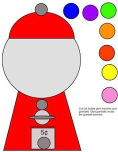 Gumball clipart red Gumball art Machine Clip Pink
