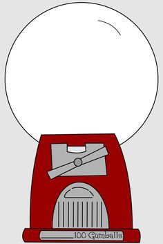 Gumball clipart red Machine Cute  gumball red