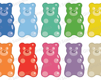 Gummy Bear clipart Gummy Download art Web Digital