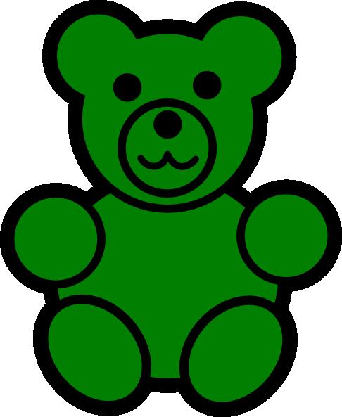 Gummy Bear clipart Vector royalty Green art com
