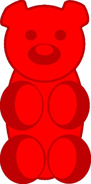 Gummy Bear clipart Vector royalty Gummy art com