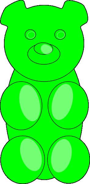 Gummy Bear clipart teddy bear outline This at  Art Clip