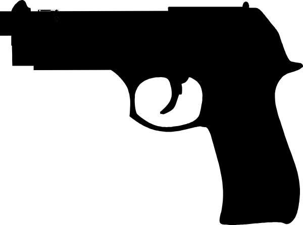 Gun clipart Black 3 clipart clip free
