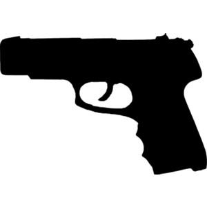Pistol clipart rifle #4