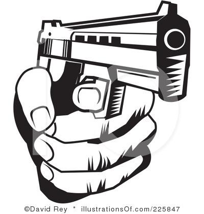 Drawn pistol clip art Download #14 clipart clipart Download