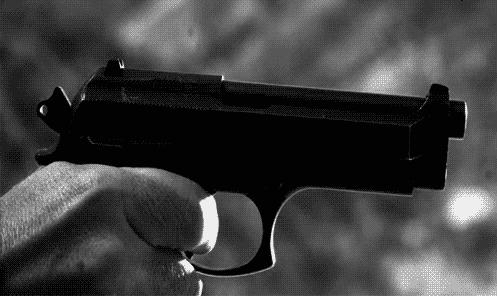 Gun Shot clipart animated PopKey shooting gun animated GIF