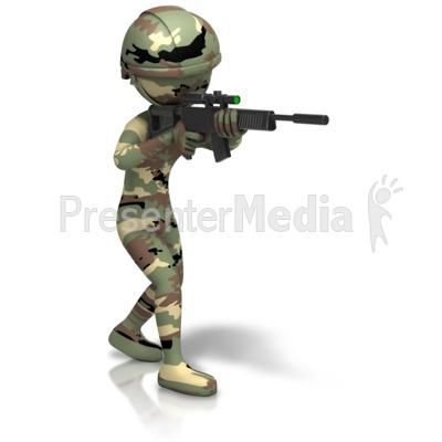 Gun Shot clipart army gun Signs Gun download free –