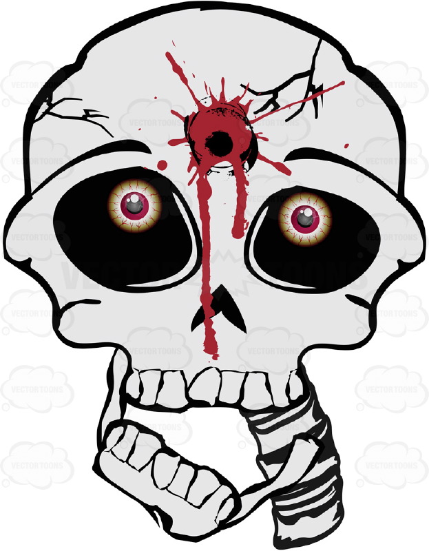 Gun Shot clipart cartoon On  Hole To With