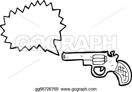 Gun Shot clipart cartoon Stock gg66726769 cartoon Shooting Shooting