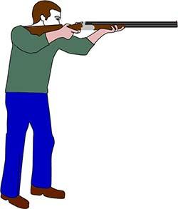 Gun Shot clipart two gun Even arm tend will to